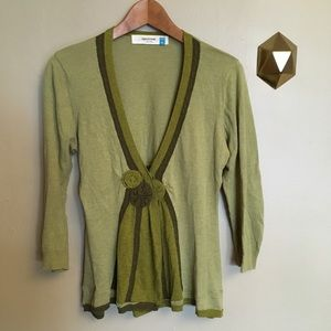 Sparrow Anthropologie Hues Ascending Cardigan M